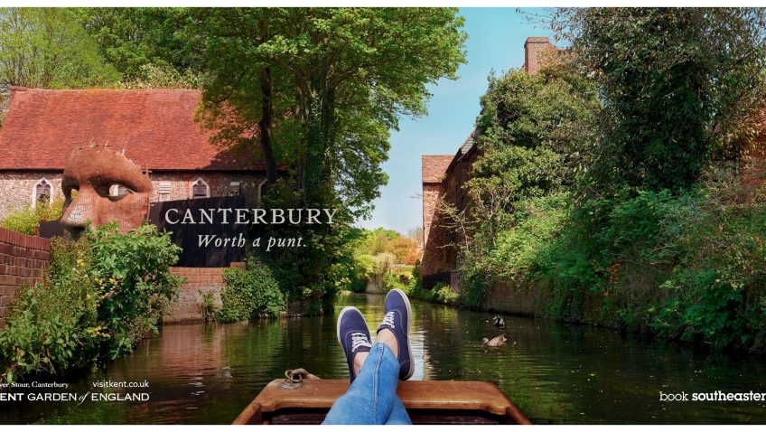 Canterbury features in Visit Kent's London campaign again this summer!